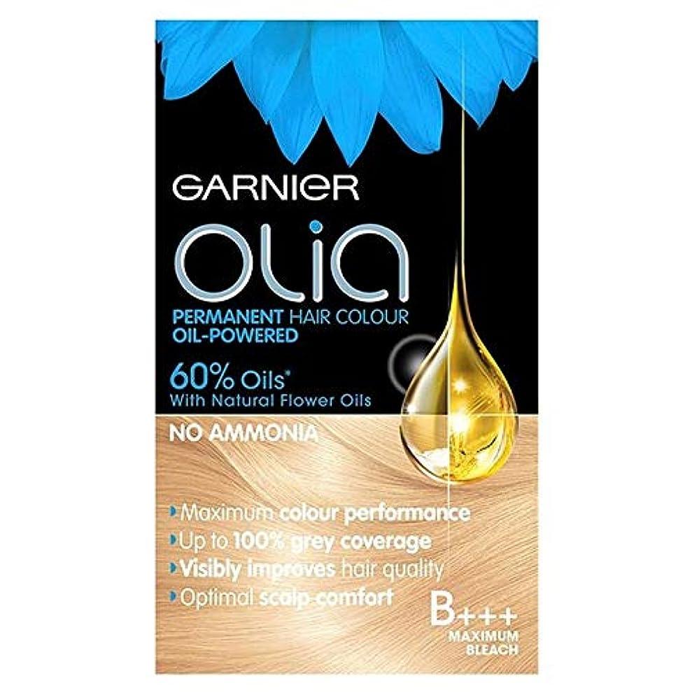 導入する禁じるガイダンス[Garnier ] ガルニエのOliaのB +++最大ブリーチブロンド - Garnier Olia B+++ Maximum Bleach Blonde [並行輸入品]