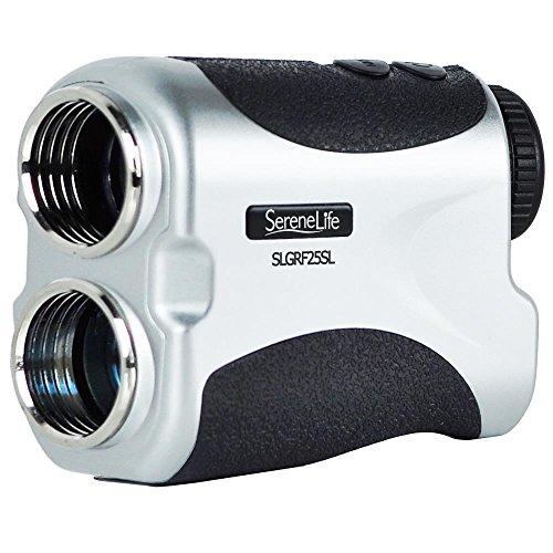 Premium Slope Golf Rangefinder by Serenelife - Digital Golf telemetro - Manuale Obiettivo Messa a Fuoco Regolabile - Pin-Seeking Modalità di Misurazione di Distanza (SLGRFS25SL)
