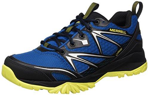 Merrell Capra Bolt GORE-TEX, Zapatillas de Senderismo para Hombre, Verde (Dark Olive),...