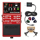 Best Loop Pedals - BOSS RC-3 Loop Station Stereo Recorder Pedal Bundle Review