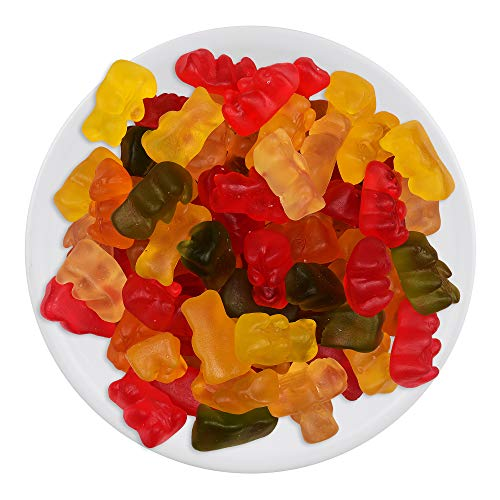 House of Candy Gummy Bear – Animal Shaped Candy w/Gummy Coating, Jelly Candy