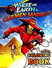 Where on Earth is Carmen Sandiego? Coloring Book for Kids