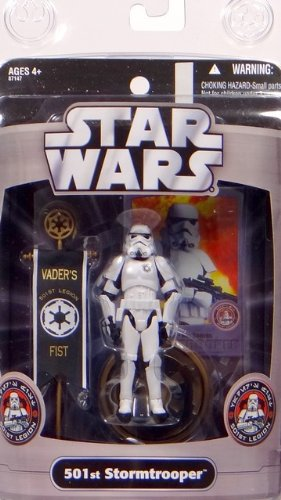 Hasbro Exclusive Figur 501st Stormtrooper Vader`s Fist - Star Wars The Saga Collection 2006