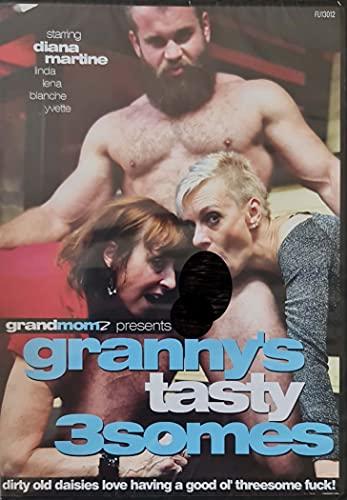 Sex DVD Granny's tasty 3somes GRAND MOM fu13012