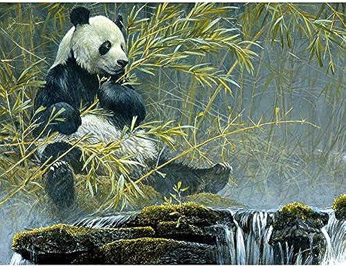 el precio más bajo XIGZI XIGZI XIGZI 5D DIY Diamante Pintura Gigante Panda Bordado de Diamantes Punto de Cruz Rhinestone Mosaico Decoración para El Hogar Sin Marco  mejor oferta