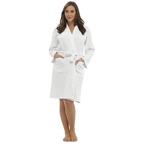 White Dressing Gown Amazoncouk