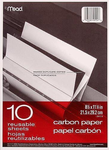 Mead Papier voiturebone, 29,2x 21,6cm, Lot de 12Chemises (10feuilles par Dossier) (40001Marteau) par Mead