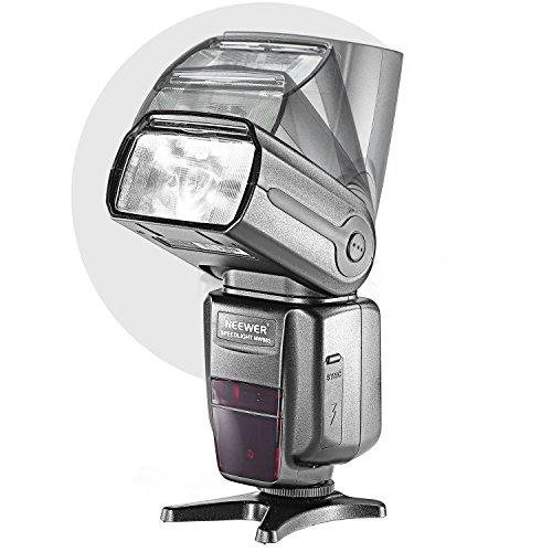 Neewer® NW985N *Farben TFT-Display * High Speed Synchronisation I-TTL Flash Blitz Blitzgerät Set für Nikon D7000 D5300 D5200 D5100 D5000 D3300 D320...