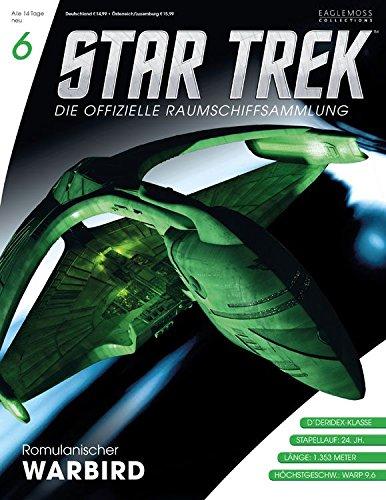 Star Trek - Die offizielle Raumschiffsammlung #6: Romulanischer Warbird (Raumschiff & Magazin)
