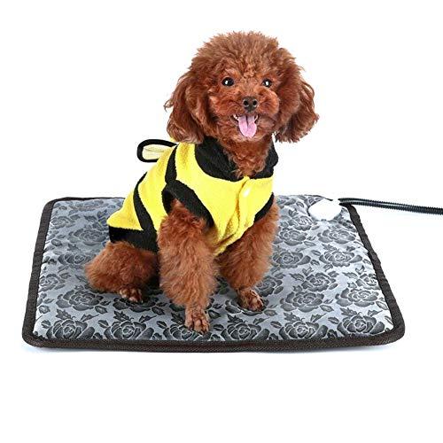Alftek Waterdichte huisdier, verwarmde warmer, bedkussen, wintermat, elektrische verwarming, instelbaar plafond