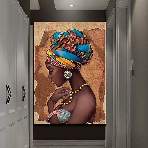 1000 Piezas de Rompecabezas Puzzle de 75x50cm para Adultos Rompecabezas de Madera HD Imprimir África Mujeres retratosUnClassic 3D Puzzle DIY Ion