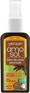 Óleo de Coco Amo Sol, Yenzah, Branco