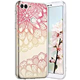 Robinsoni Cover per Huawei Enjoy 7S Cover Silicone Huawei Enjoy 7S Case Trasparente Custod...