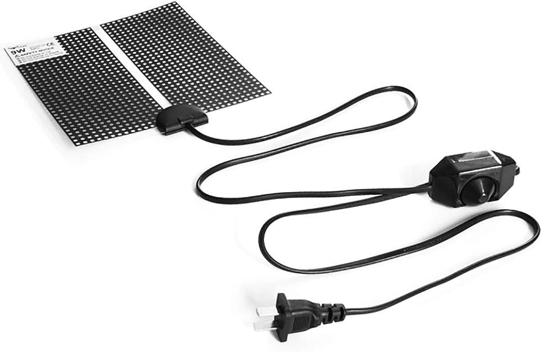 Reptile Heating Pad  Terrarium Heating Pad Warmer Heater Mat with Temperature Control for Reptile