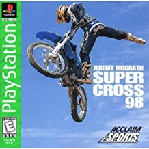 Jeremy McGrath Super Cross 98 PS1 Instruction Booklet (Sony Playstation Manual Only - NO GAME) Sony Playstation Manual
