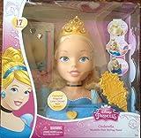 Disney Princess Cinderella Majestic Hair Styling Head by Disney Princess