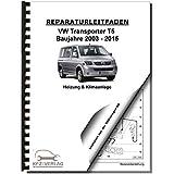 VW Transporter T5 2003-2015 Heizung Belüftung Klimaanlage Reparaturanleitung
