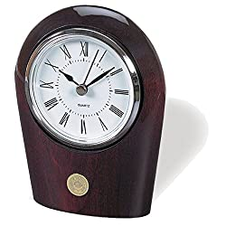 NCAA Wisconsin Badgers Adult Palm Clock, Silver