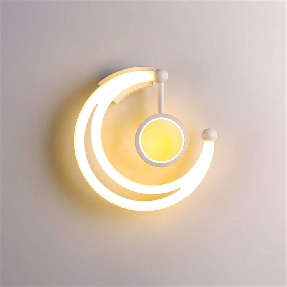 NIUYAO Wall Light Contemporary Crescent Li excellence Max 47% OFF Style Moon Mount