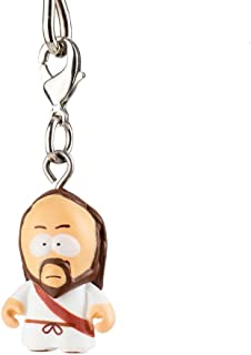 South Park Jesus Rare Chase Mystery Figure ?/?? Not Listed on Box Odds Zipper Pull / Keychain Series 2 by Kidrobot OIpened Blind Box