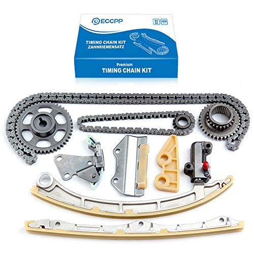 ECCPP New Timing Chain Kit fits 2002-2009 Honda CR-V EX LX SE 2.4L DOHC K24Z1 K24A1 Engine
