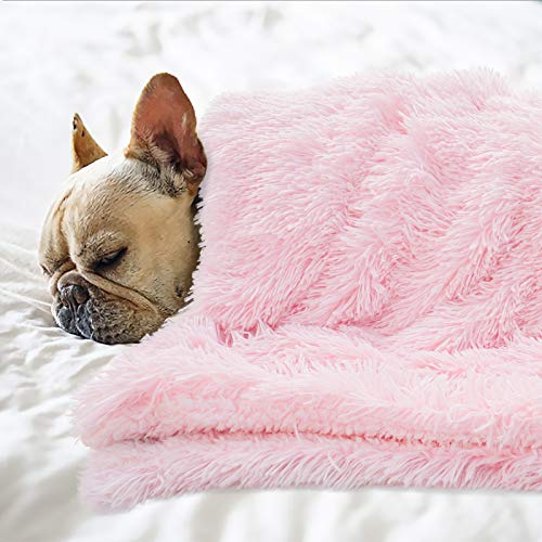 BENRON Premium Fluffy Pet Blanket for Small Medium Large Dogs, Cozy...