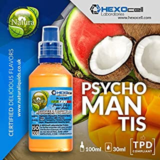 E LIQUID PARA VAPEAR - 30ml Psychomantis (Sandia, Coco, Mango) Shake n