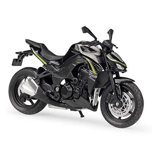 CYPP 1:18 para Kawasaki Z 1000 R 2017 Motorycle Metal Diecast Aleación Modelo Toys Regalo