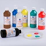 Lefranc & Bourgeois - Pack de acrílico líquido, 10 frascos de 500 ml ,...