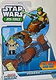 Star Wars Jedi Force Playschool Heroes Speeder Bike with Luke Skywalker Figure