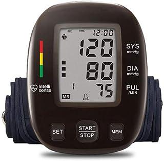 Life HS Automático Brazo Superior esfigmomanómetro transmisión de Voz Monitor de Alto Voltaje Monitor LCD portátil Monitor de Ritmo cardíaco anormal Brazalete Ajustable Cuidado de la Salud Familiar