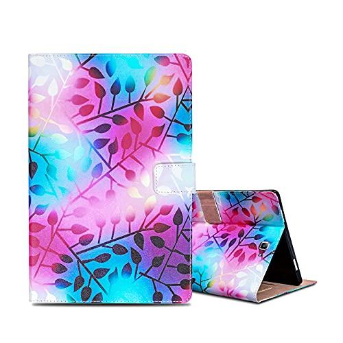 ONETHEFULCarcasaLibroFundaTabletSamsung Galaxy Tab A / A6 10.1' 2016 T580 T585CoverFundasProtectorconPU CueroySoporte- Hojas de Color