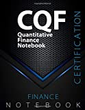 "CQF Notebook, Quantitative Finance Certification Exam Preparation Notebook, 140 pages, CQF examination study writing notebook, Dotted ruled/blank ... 8.5"" x 11"", Glossy cover pages, Black Hex"