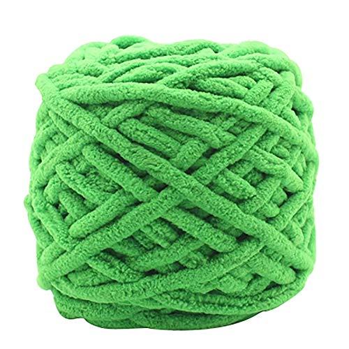 KingbeefLIU Schal Weiche Dicke Baumwolle Stricken Wollgarn Ball DIY Handwerk Für Pullover Schals Smaragdgrün