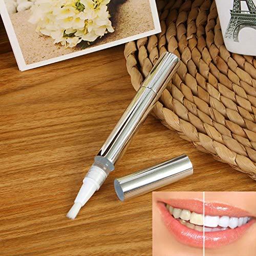 AMhomely Zahnaufhellung Whitening-Stift, Bleaching, Zahnweiss, Zähne Aufhellen, Weiße Zahnreinigung, die zahnmedizinischen Fachmann-Kit-Zahnweißungs-Gel-Stift bleichen (Weiß)