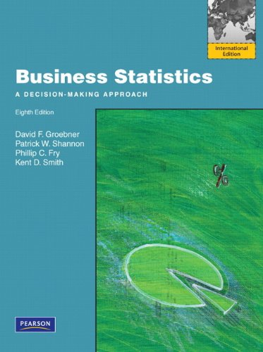 Groebner: Business Statistics with MathXL 12 mth Student Access Code Pack