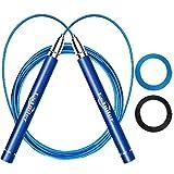 Speed Jump Rope, Estoder Adjustable Jumping Rope, Patent Self-Locking & Screw-Free Skipping Rope,...