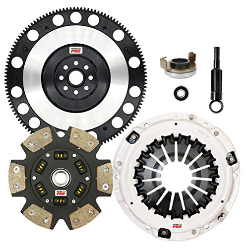 ClutchMaxPRO Performance Stage 3 Clutch Kit with Chromoly Flywheel Compatible with Saab 9-2X, Subaru Baja, Forester, Impreza WRX, Legacy GT, Outback, EJ255, FA20F