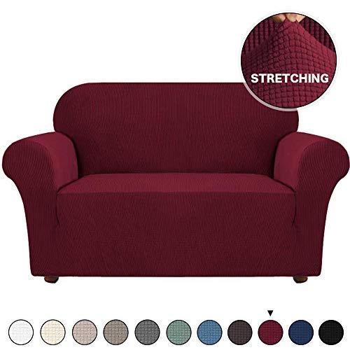Jacquard Sofa Cover Durable Streth Loveseat Slipcovers Slip Resistant Sofa Furniture Protector...