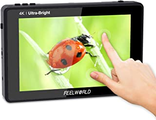 Irfora LUT7 7 Inch DSLR Camera Field Monitor Video Monitor 3D LUT Touchscreen FHD Resolution with 4K HDMI Input Output Wav...