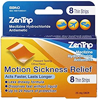 Sponsored Ad - Zentrip Motion Sickness Relief Strips, 8Count