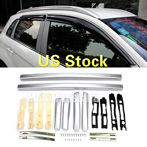 MotorFansClub Top Roof Rack Bar Cargo Luggage for Mitsubishi RVR ASX Outlander Sport 2010-2016