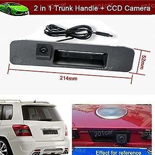 2en 1mango coche tronco de recambio + CCD Invertir copia de seguridad de visión trasera cámara de estacionamiento para Mercedes Benz ML320ML350ml400A180A200A260