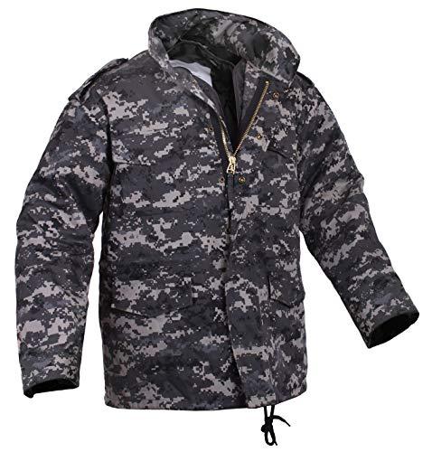 Rothco Camo M-65 Field Jacket, Subdued Urban Digital Camo, 2XL