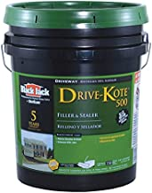 Black Jack Drive Kote 500 Driveway Filler & Sealer Latex Blacktop 4.75 Gl 5 Yr Warranty