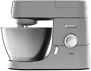 Kenwood Chef KVC3110S - Robot de Cocina Multifunción, Bol de Metal de 4,6 Litros, Varillas para Mezclar, Amasar y Batir, I...