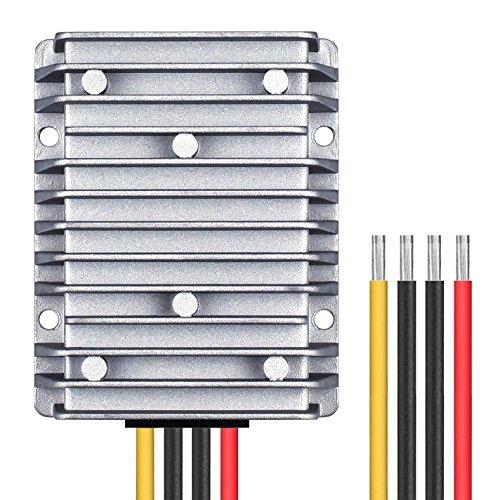 DPLANET 30A 360W 12v Golf Cart 48V 36V to 12V Converter Voltage Regulator Golf Cart Voltage Converter Waterproof