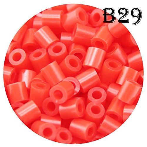 Crimson 1500 Count B29 H/&W 5mm Fuse Bead Refill Bag