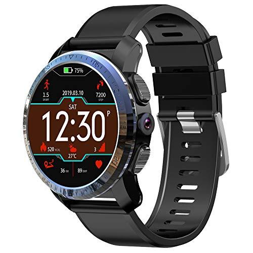N\A Smart Watch Armband Bluetooth 4G Smartwatch mit Herzfrequenzmesser Wasserdichter GPS-Schrittzähler Sport Fitness Tracker Kompatibel mit iOS Android 32 GB (3 + 32 GB)