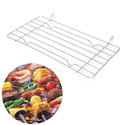BINGHONG3 BBQ - Rejilla para Barbacoa (Acero Inoxidable)